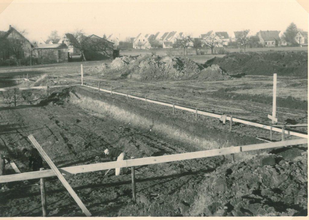 1963 Erdarbeiten