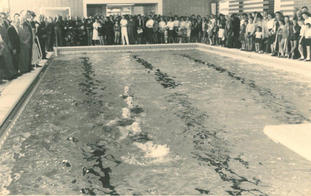 """1964 Synchronschwimmerinnen """"Neptun-Nixen"""""""